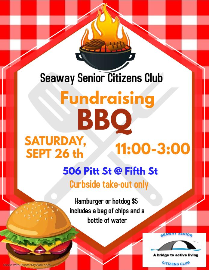 BBQ Fundraiser September 2020